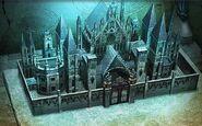 Mist castle model