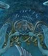 Acorn Symbol Lake Stairway