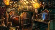 Pinocchio bedroom