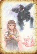 BOR - Thumbelina and flying monkey
