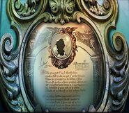 False mirror plaque