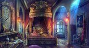 Wolfqueen bedroom