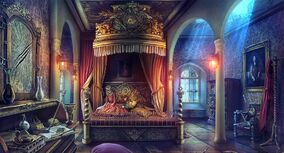 Wolfqueen bedroom
