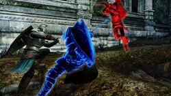 Centinela Azul en combate
