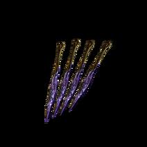 Cuchillo arrojadizo envenenado (DSIII)