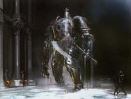 Golem de hierro - Arte conceptual