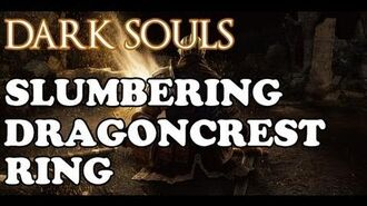 Dark Souls How to get the Slumbering Dragoncrest Ring
