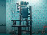 Stuhl im Bunker