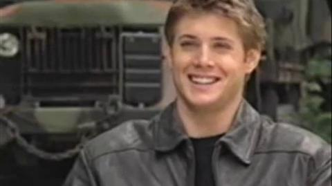 Ackles interview on set S2 debut