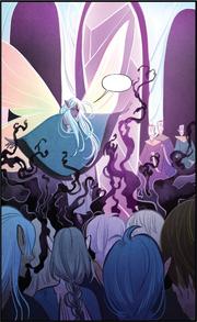 Kensho confronting Darkened Gelfling