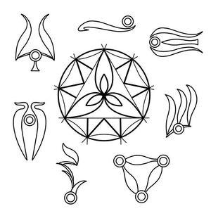 Gelfling clan symbols