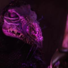 SkekSo revealing secretly to SkekVar, that the Darkening is injuring him.