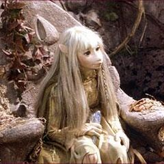 Kira at the Ancient Gelfling Ruins.
