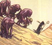 Raunip leads the Makraks