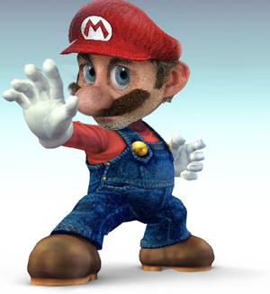 Super Smash Bros 4 Mario by Wiiario