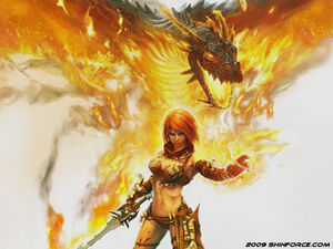 Flamewraithwp-Golden Axe Beast Rider-c-1024