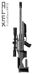 Alex Sniper Rifle by ReneAugustus