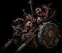 Тележка с костями