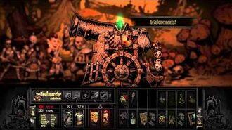 Darkest Dungeon Brigand 8 Pounder boss fight
