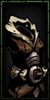 Barbarin Rüstung Level 3