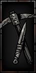 Grabräuberin Waffe Level 1