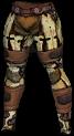 Bone Leggings Human