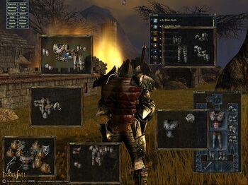 Darkfall screenshot