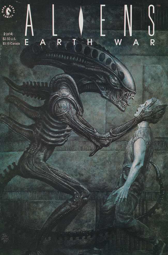 Aliens: Earth War Vol 1 2   Dark Horse Database   FANDOM ...