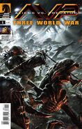 AvP Three World War Vol 1 1