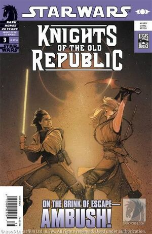 Star Wars Knights of the Old Republic Vol 1 3
