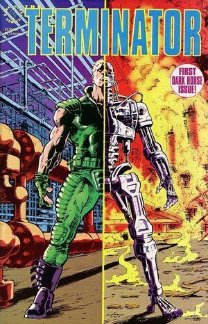 The Terminator 01 Cover