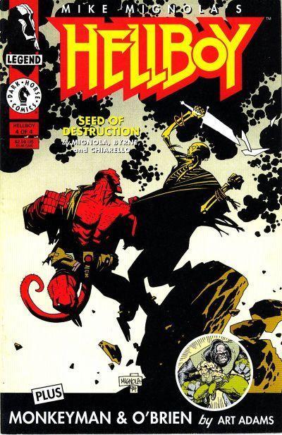 hellboy seed of destruction 1