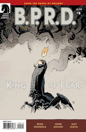BPRD King of Fear 5