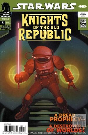 Star Wars Knights of the Old Republic Vol 1 5