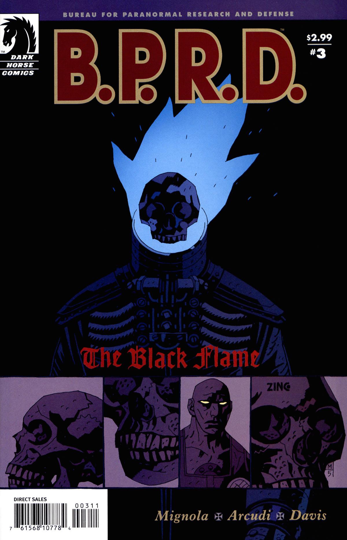 Black Flame Hellboy