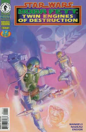 Star Wars Boba Fett Twin Engines of Destruction Vol 1 1