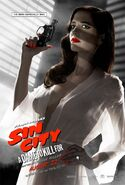 Dame to Kill For Ava Poster