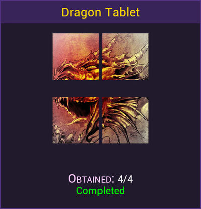 Dragon Tablet Complete