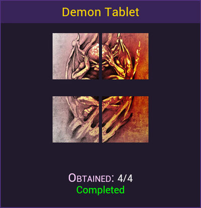 Demon Tablet Complete
