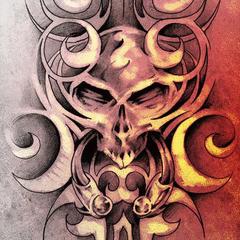 Skull Tablet