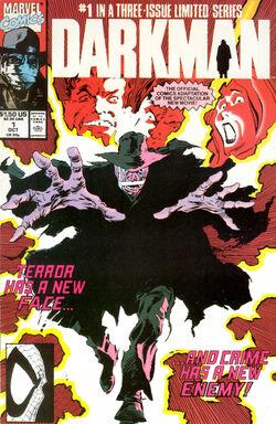 Darkman 1990 comic -1