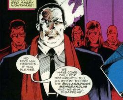 Durant's gang comic