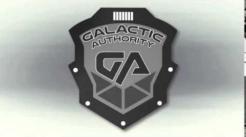 Galactic Authority onscreen logo