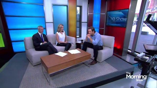 11 June 2015 Anthony Lemke Interview The Morning Show