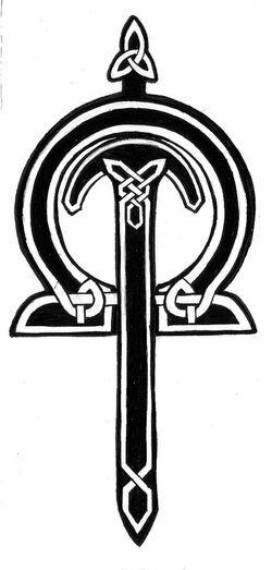 Celtic Sword Tattoo by Tyshea