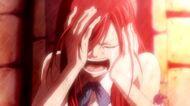 Erza crying