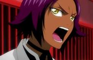 Yoruichi yells