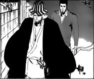 Urahara and Isshin