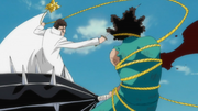 Aizen defeats Love