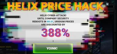Helix price blitz